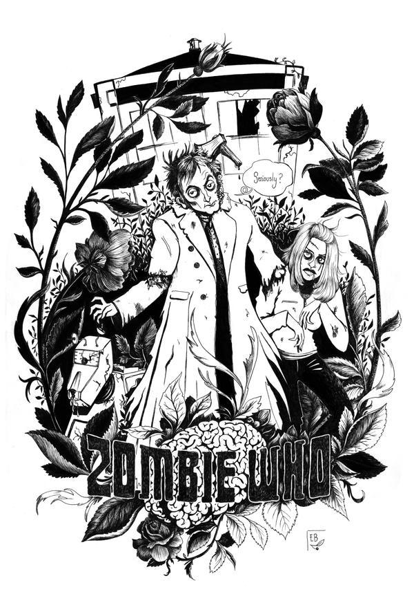 Zombie Who by Ellea-Bird