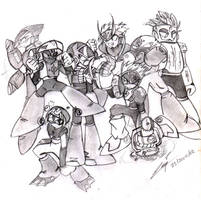 Megaman 2 Robot Masters