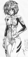 Rei Ayanami by hao-asakura