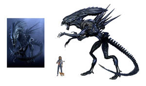 Earth Queen Xenomorph