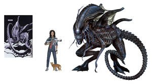 Queen Mother Xenomorph by Risen-From-The-Ruins