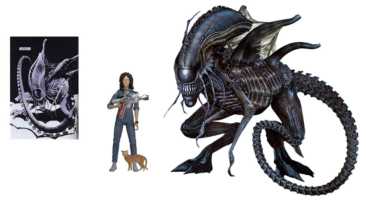 Queen Mother Xenomorph by Risen-From-The-Ruins on DeviantArt