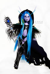 World of Warcraft Elf by melenka
