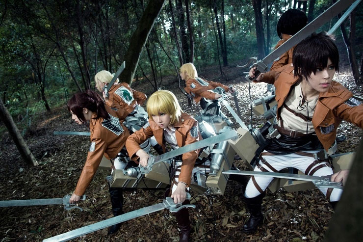 Attack on Titan Cosplay by Mcosplay