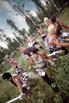 Attack On Titan group cosplay
