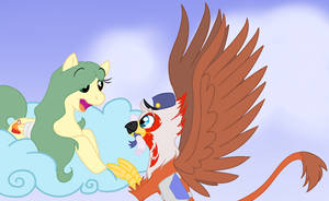 Maple Cakes and Andy the Griffon