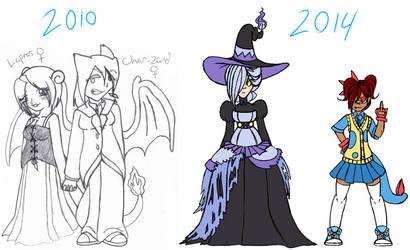 4 years of improvement...