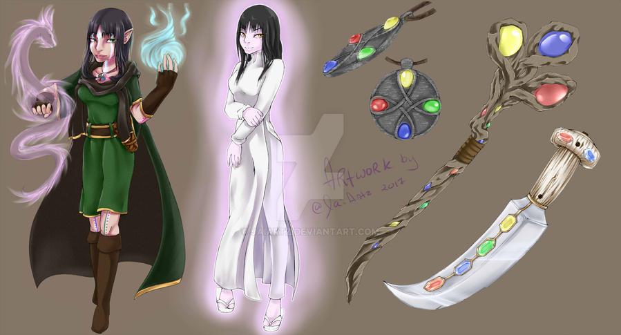 Character Concept Art by JaiArtz