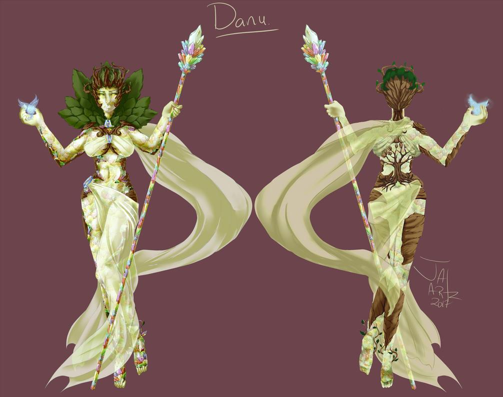 Concept Art - Goddess by JaiArtz