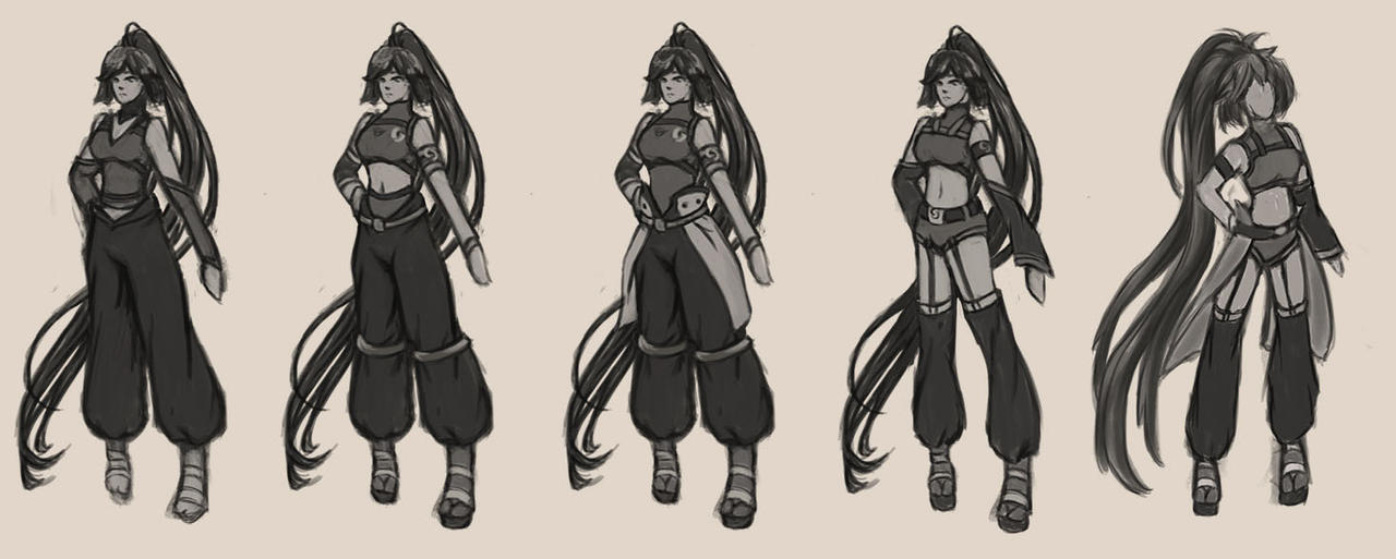Character Variations by JaiArtz