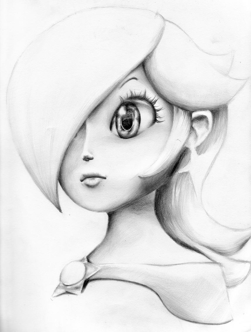 rosalina bust by museforsale by mario galaxy club on deviantart