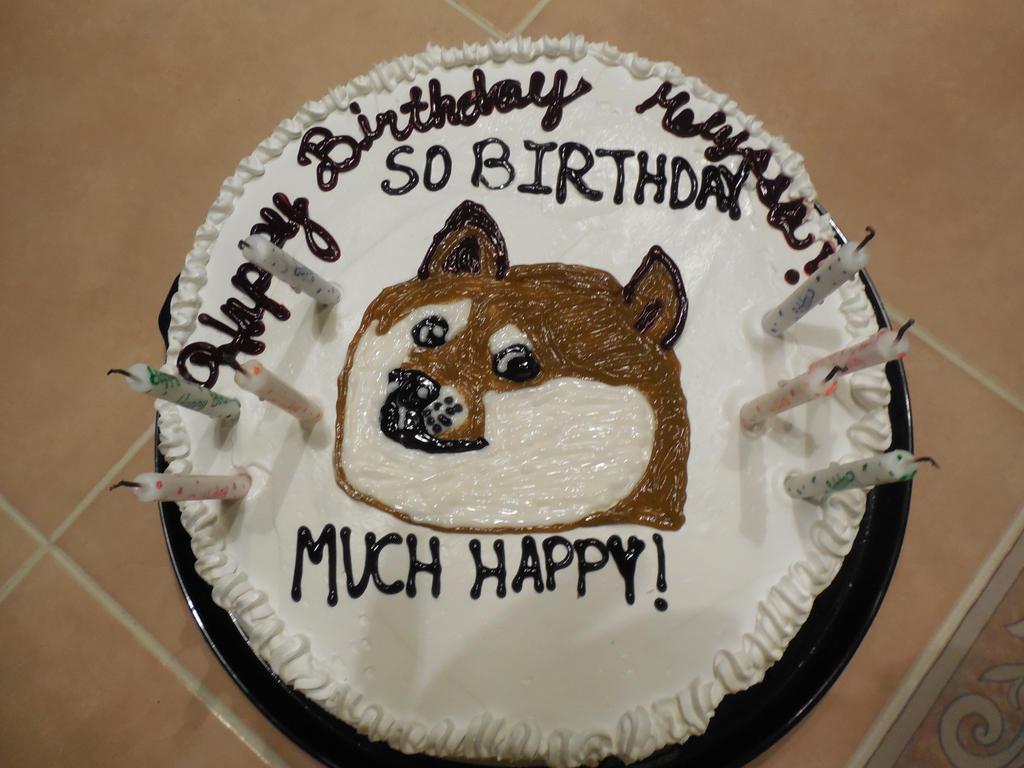 World Of Warcraft Birthday Meme Cake