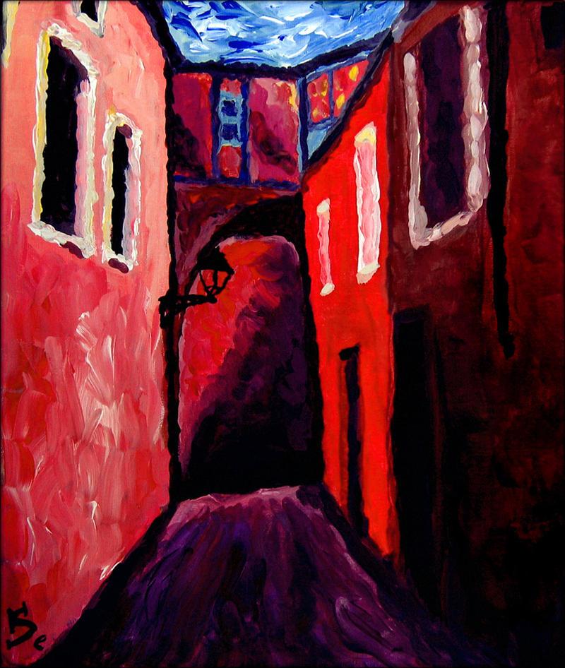 Alleyway of Colors by Selina-Vigu
