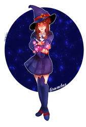 Akko - Little Witch Academia by Unanchoa