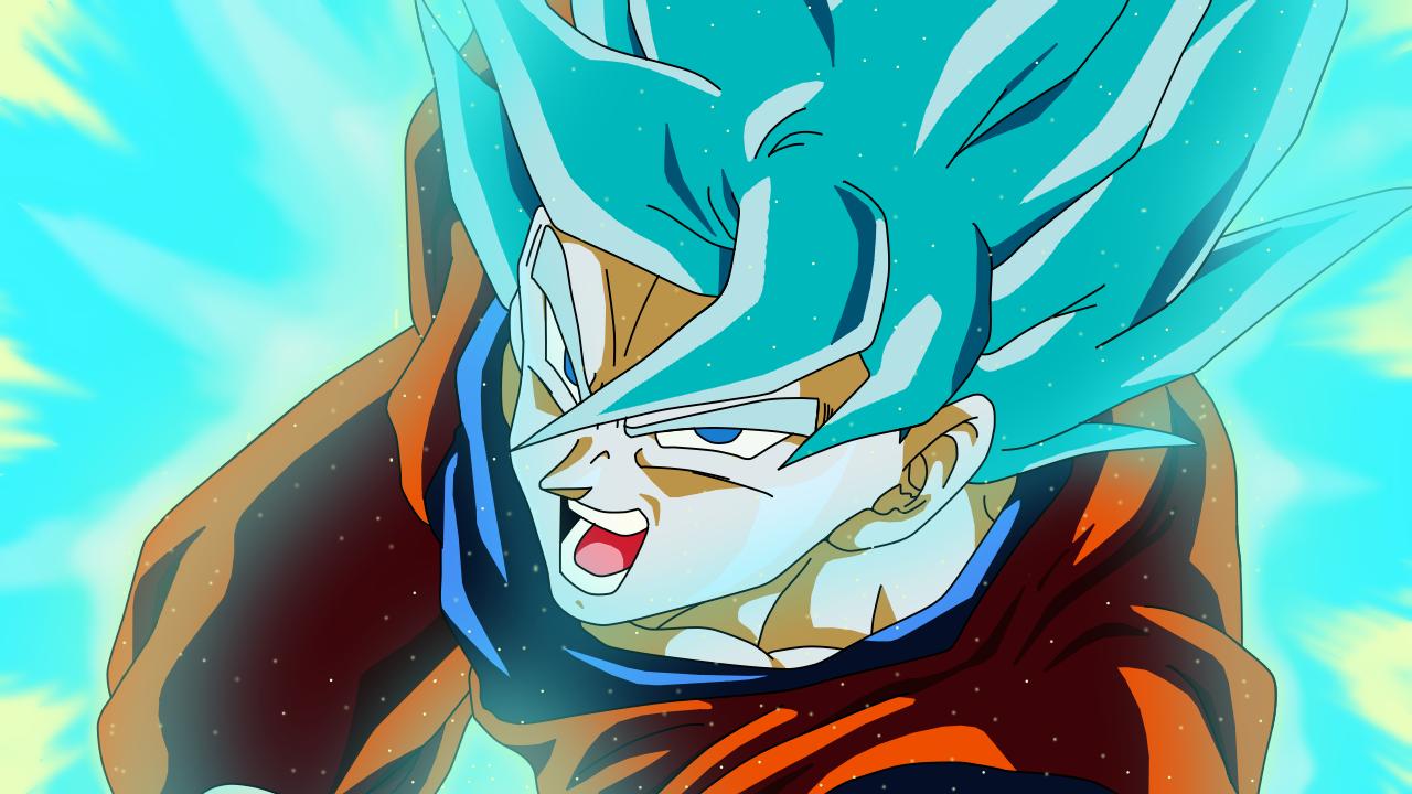 Goku Super Saiyan Blue Wallpaper By Teamsaiyanhd On Deviantart