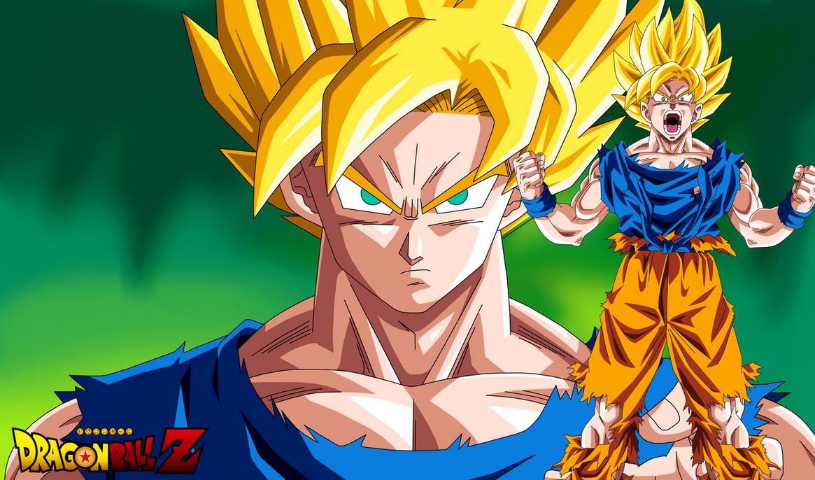 Wallpaper Goku Super Saiyan Dragon Ball Z By Teamsaiyanhd