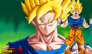 Wallpaper Goku Super Saiyan | Dragon Ball Z