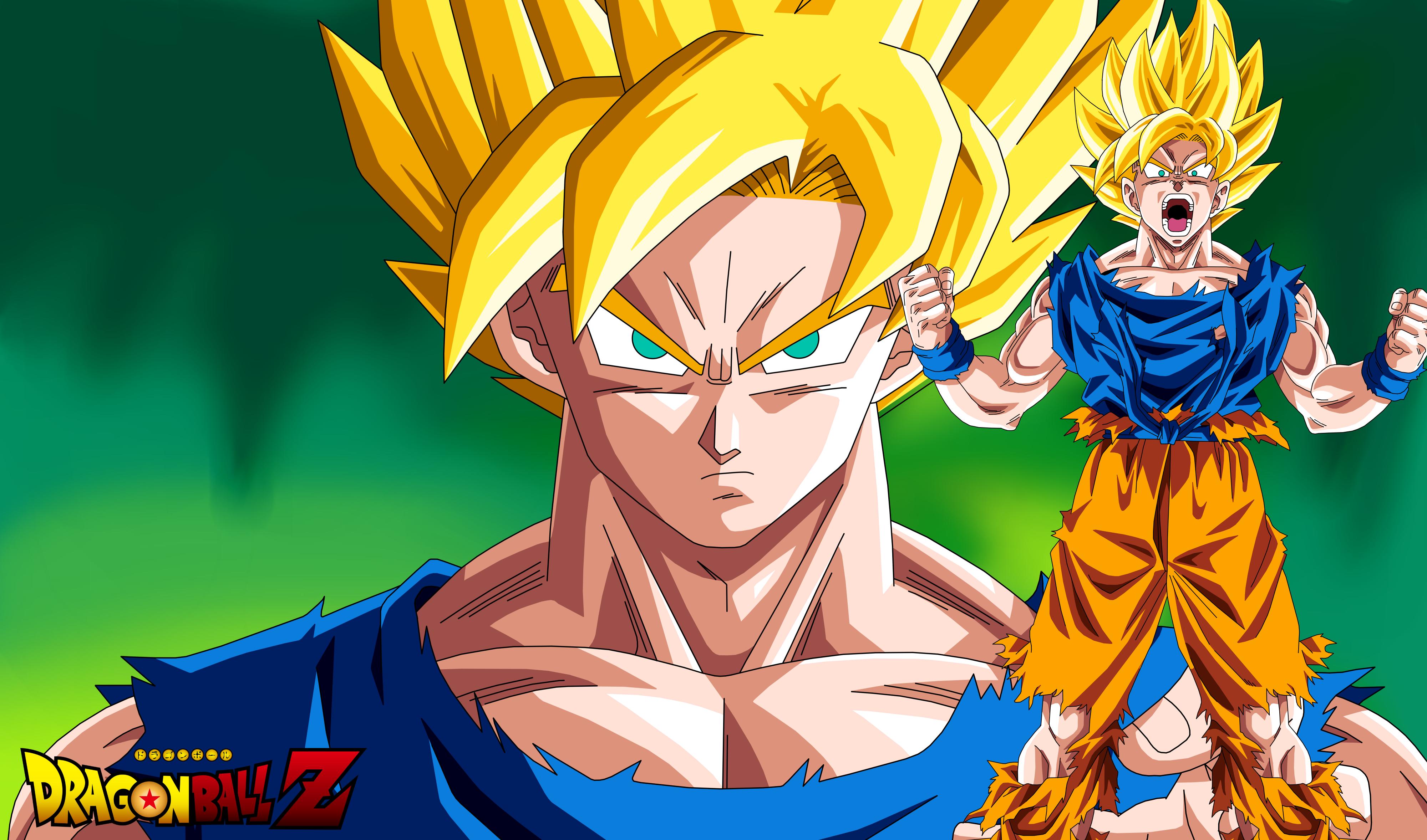 Wallpaper Goku Super Saiyan