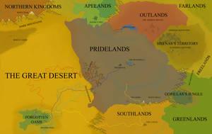 Pridelands Political Map by FireLeviathan