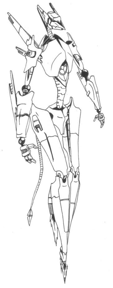 Skeleton Mech by Meverix