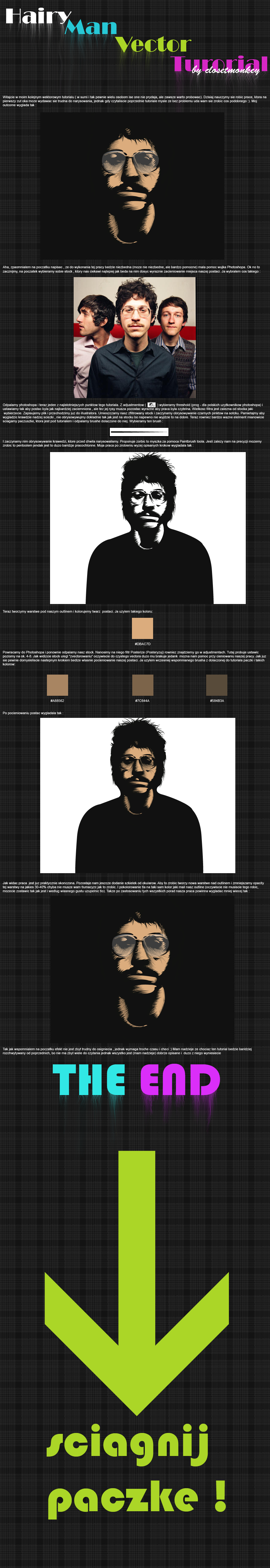 Hairy Man Vector Tutorial by JDog0601