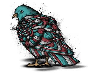 Birdy bird by JDog0601