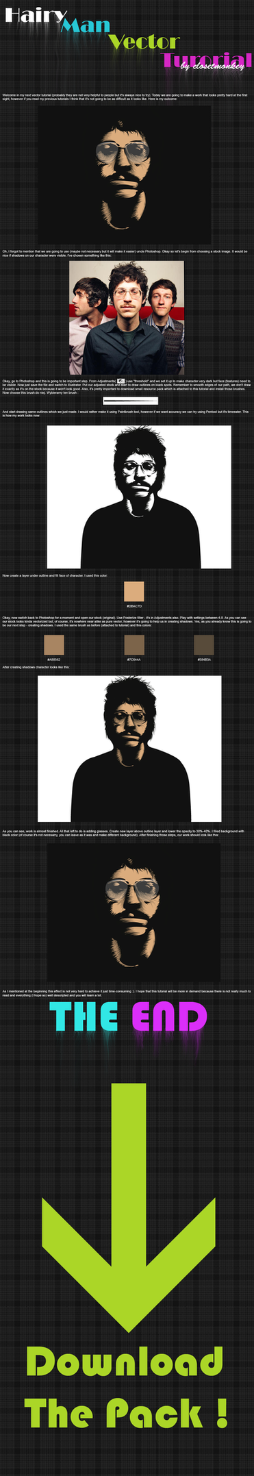 Hairy Man Vector tut - Eng by JDog0601