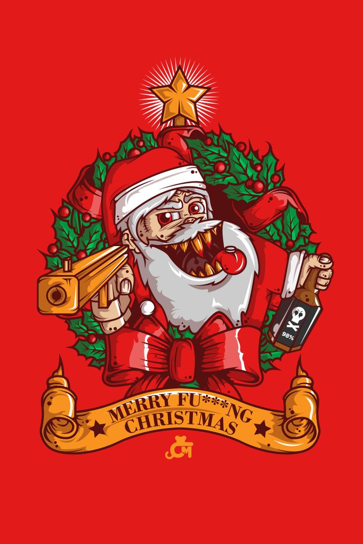 Psycho Claus by JDog0601