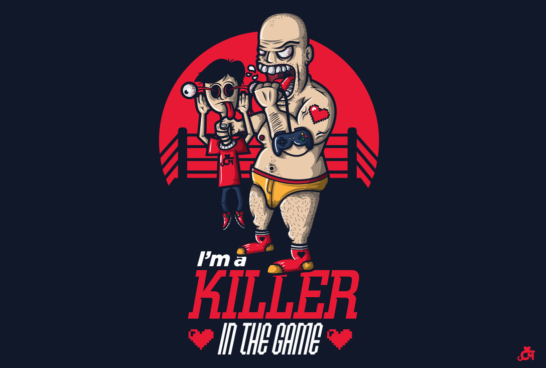 Im'a a killer in game by JDog0601