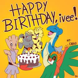 Happy Birthday, ivee!