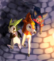[PKMN-S] Into the Dungeon by chicoARTS