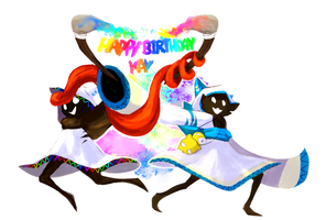 Happy (Late) Birthday, Kay!