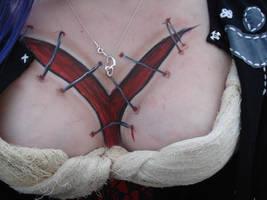 chest wound by halfdemonhottie