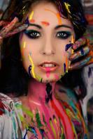 Paint face by Sherona