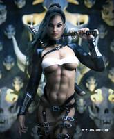 Sexy Warrior by P7-J5