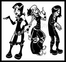 The Goth Kids by TheDeKay by Gothology