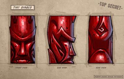 Tiki Diablo mug concept by Hassan-Patterson