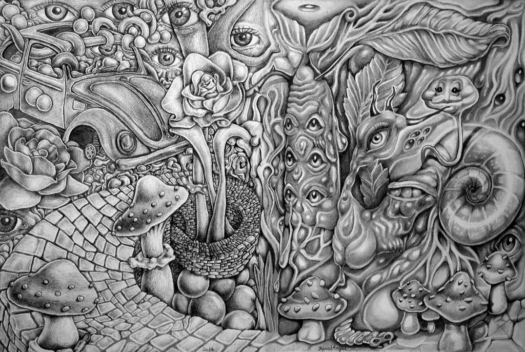 Wonderland's Pathway by zergy79