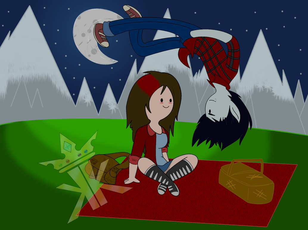 AT Gender Bent-Kim n Marshall Lee-Friendly Picnic by King-Kipp