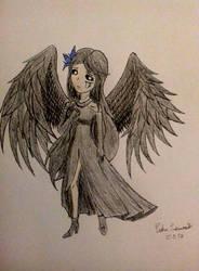 Drawing: Dark Angelena  by kjl03