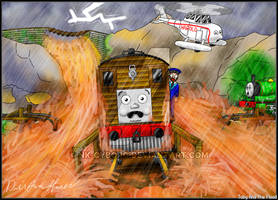 ~Thomas and Friends - Toby And the Flood~ by Nk-Cyborg