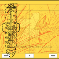~Silk Net, 2018 - Sc.#02 Pencil Test~ by Nk-Cyborg