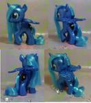 Custom My Little Pony Filly Princess Luna
