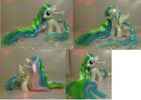 Custom My Little Pony Filly Princess Celestia by SanadaOokmai