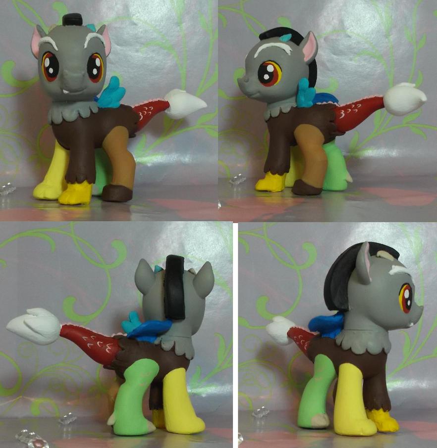 My Little Pony G4 Custom Baby draconequus Discord by SanadaOokmai