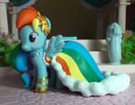My Little Pony custom Gala Rainbow Dash