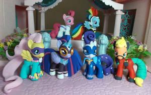 Power Ponies group shot by SanadaOokmai