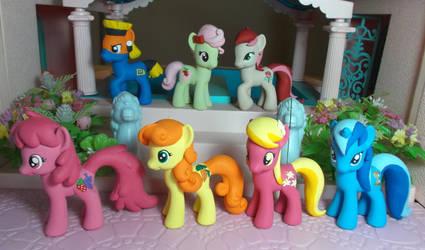 Background ponies set 2