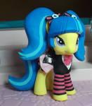 my little pony custom Pixel Pizzazz