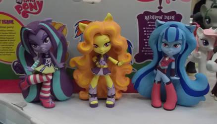 Dazzlings dolls